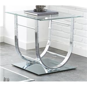 Morris Home Furnishings Galena Galena End Table