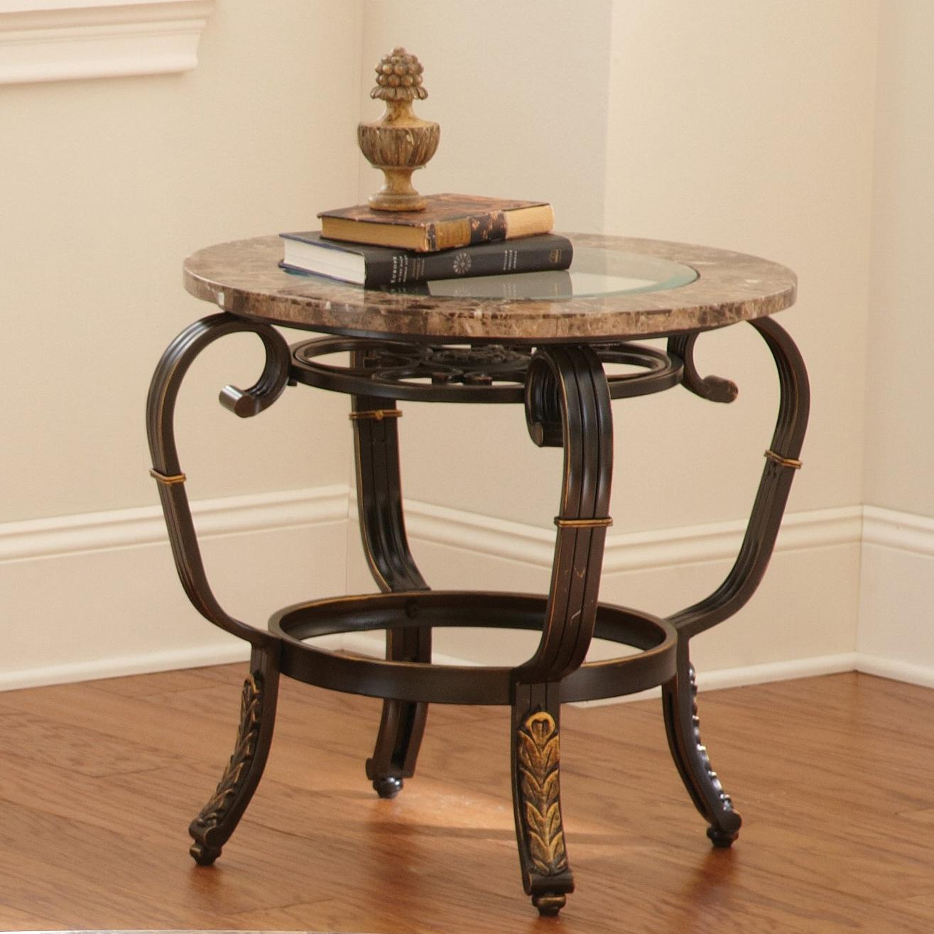 Steve Silver Gallinari End Table - Item Number: GN300E