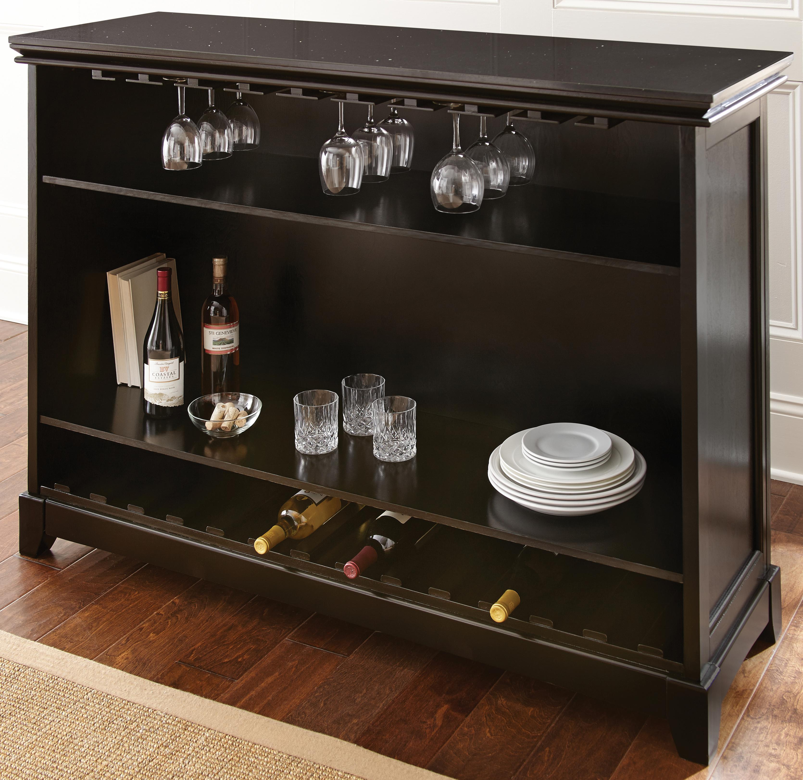 Steve Silver Garcia Stone Top Counter Bar Unit - Item Number: GR560B