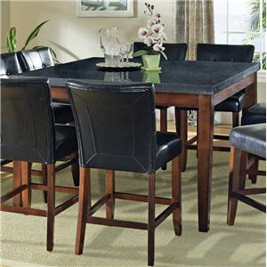 Granite Bello Granite Top Counter Height Leg Table Morris Home - Stone top counter height table