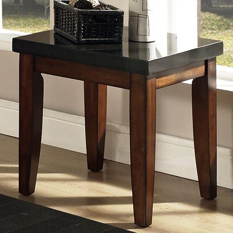 Steve Silver Granite Bello Granite Top End Table - Item Number: MG700E