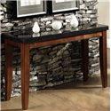Steve Silver Granite Bello Granite Top Sofa Table - Item Number: MG700S