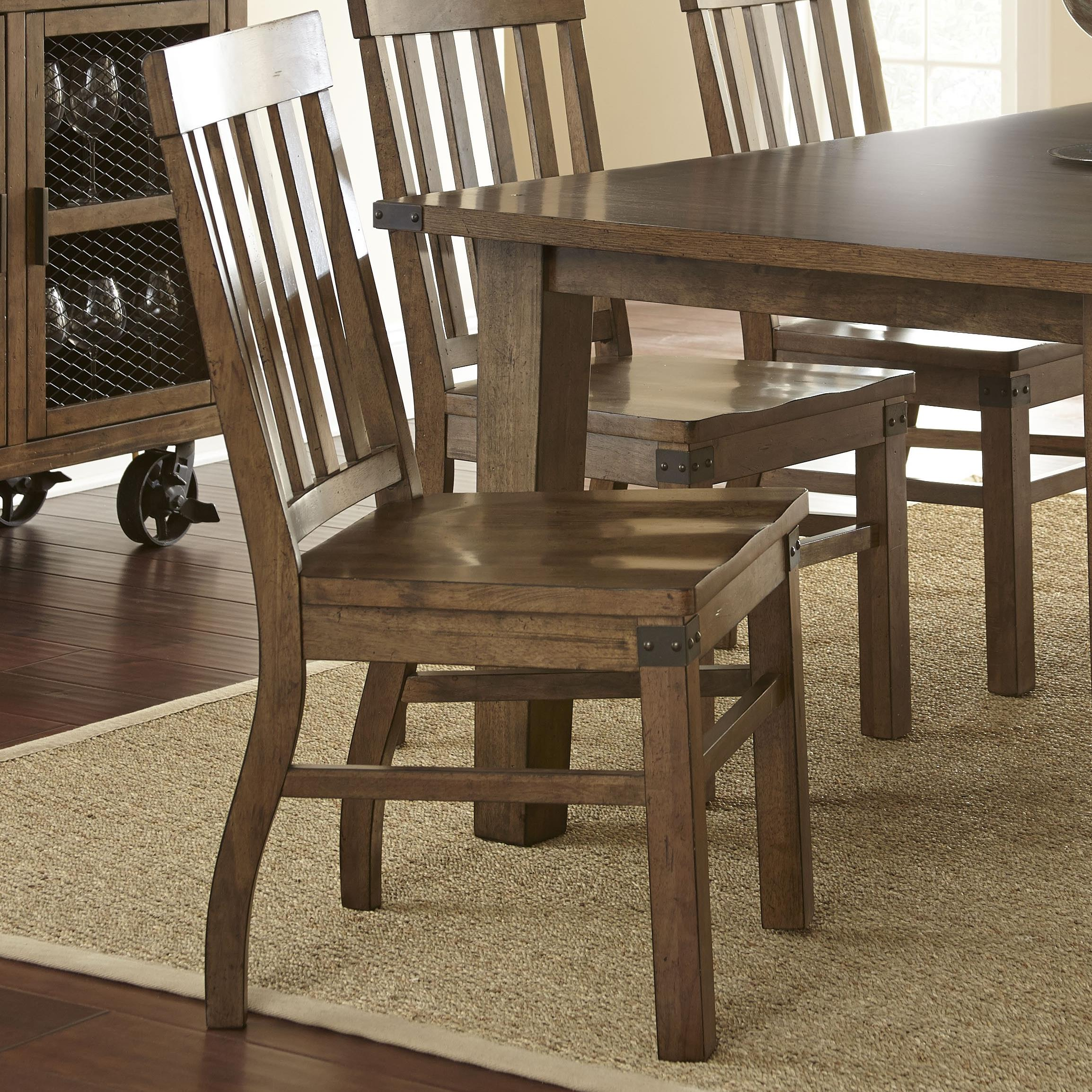 Steve Silver Hailee Dining Side Chair - Item Number: HA450S