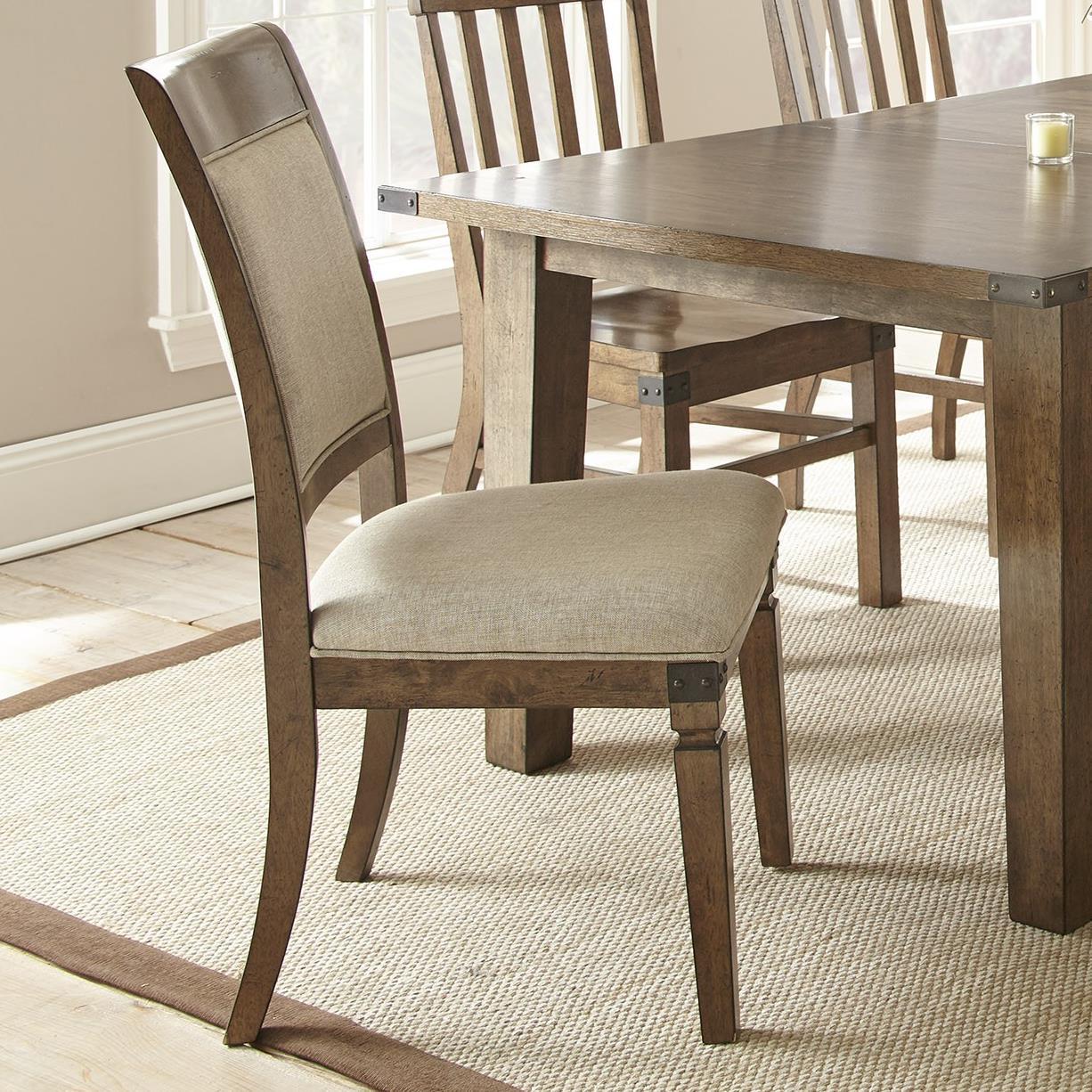 Steve Silver Hailee Dining Side Chair - Item Number: HA500SV