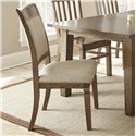 Vendor 3985 Hailee Dining Side Chair - Item Number: HA500SV