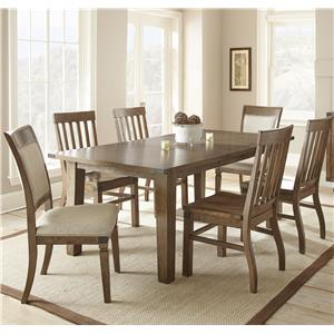 Morris Home Furnishings Hailee 7 Piece Dining Set