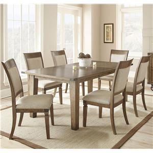 Vendor 3985 Hailee 7 Piece Dining Set