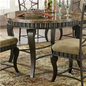Vendor 3985 Hamlyn Faux Marble Top Table
