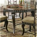 Vendor 3985 Hamlyn Faux Marble Top Table - Item Number: HL500T