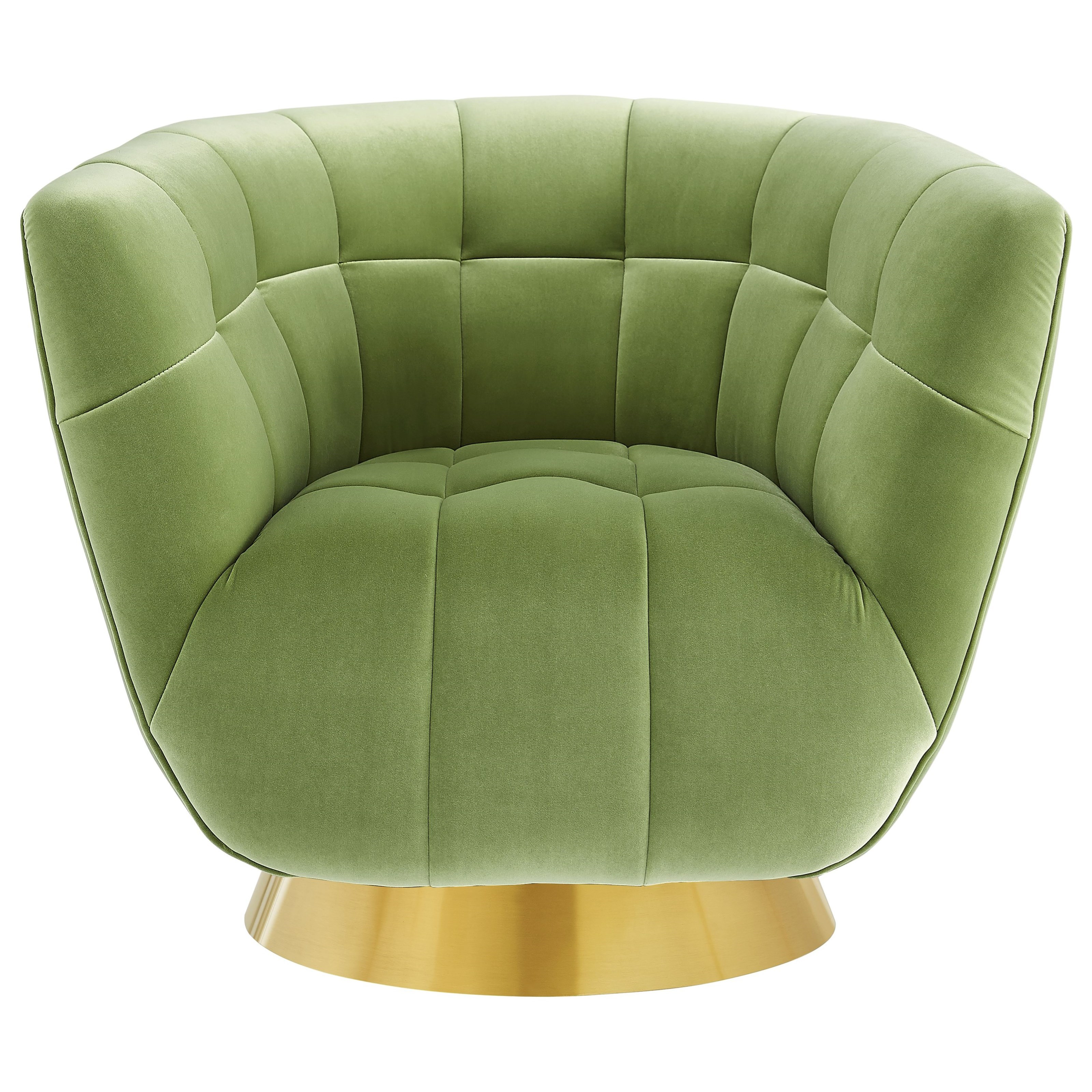 Hanna Velvet Swivel Chair by Steve Silver at Northeast Factory Direct