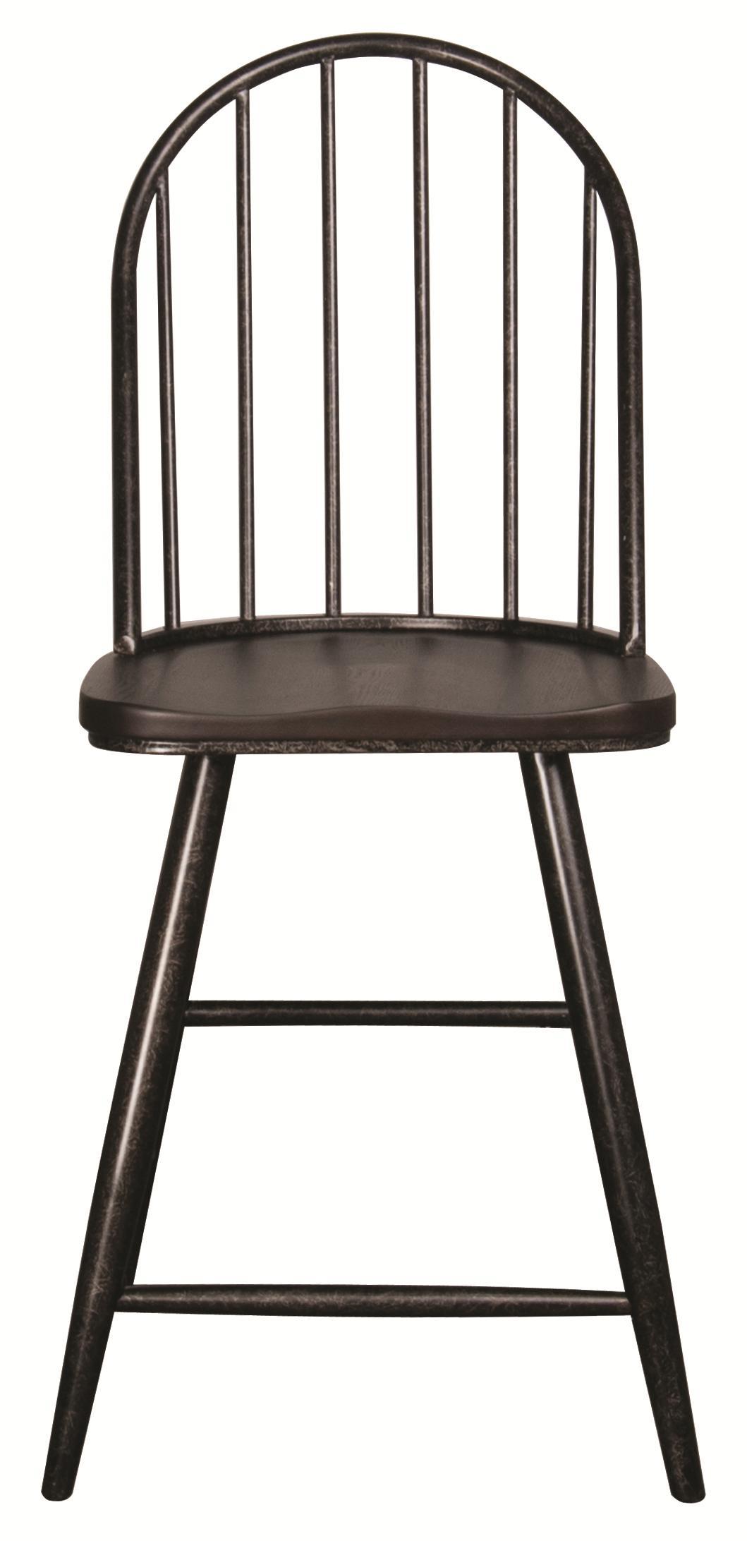 "Morris Home Furnishings Hardin Hardin 24"" Barstool - Item Number: HR600CC"