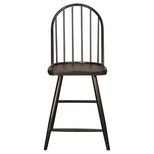 "Morris Home Furnishings Hardin Hardin 24"" Barstool"