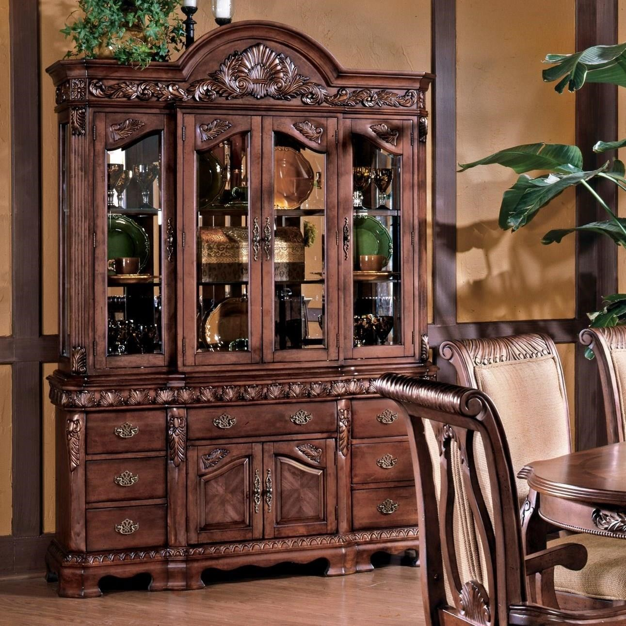Steve Silver Harmony  Buffet and Hutch - Item Number: 750B+H-HA