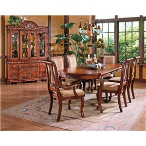 Vendor 3985 Harmony  7-Piece Dining Set