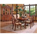 Morris Home Furnishings Harmony  Traditional Cabriole Leg Dining Table with 18