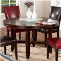 "Steve Silver Hartford 52"" Dining Table - Item Number: HF520T+B+AV540LZ"