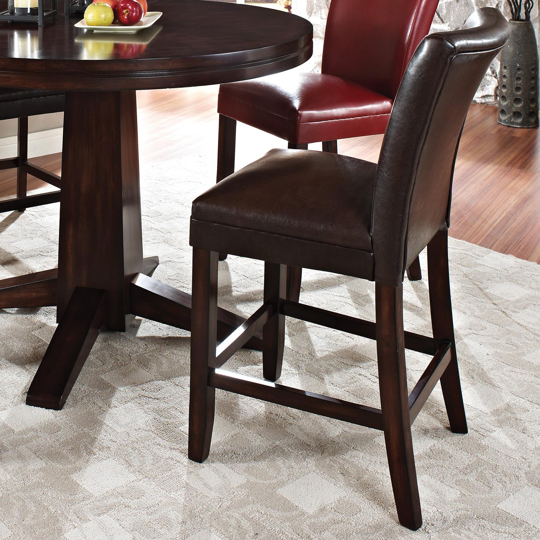 Steve Silver Hartford Bonded Counter Chair - Item Number: HF600CCBR