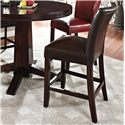 Vendor 3985 Hartford Bonded Counter Chair - Item Number: HF600CCBR