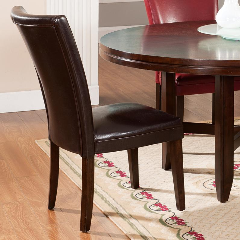 Morris Home Furnishings Glenhaven Glenhaven Brown Side Chair - Item Number: HF755BR