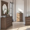 Morris Home Highland Park Dresser and Mirror Set - Item Number: HP900DRD+MRD