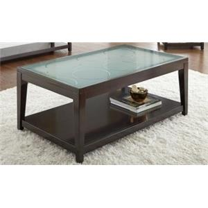 Morris Home Hillcrest Hillcrest Cocktail Table with Casters