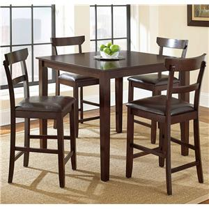 Steve Silver Howard 5 Piece Counter Height Dining Set