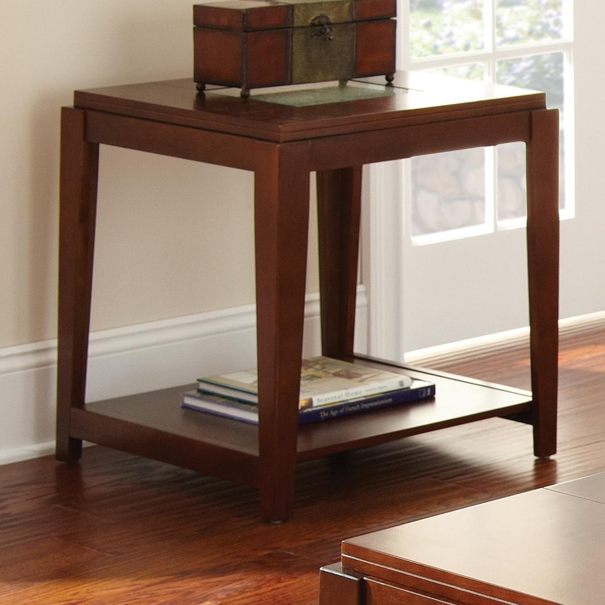 Steve Silver Ice End Table - Item Number: IE200E