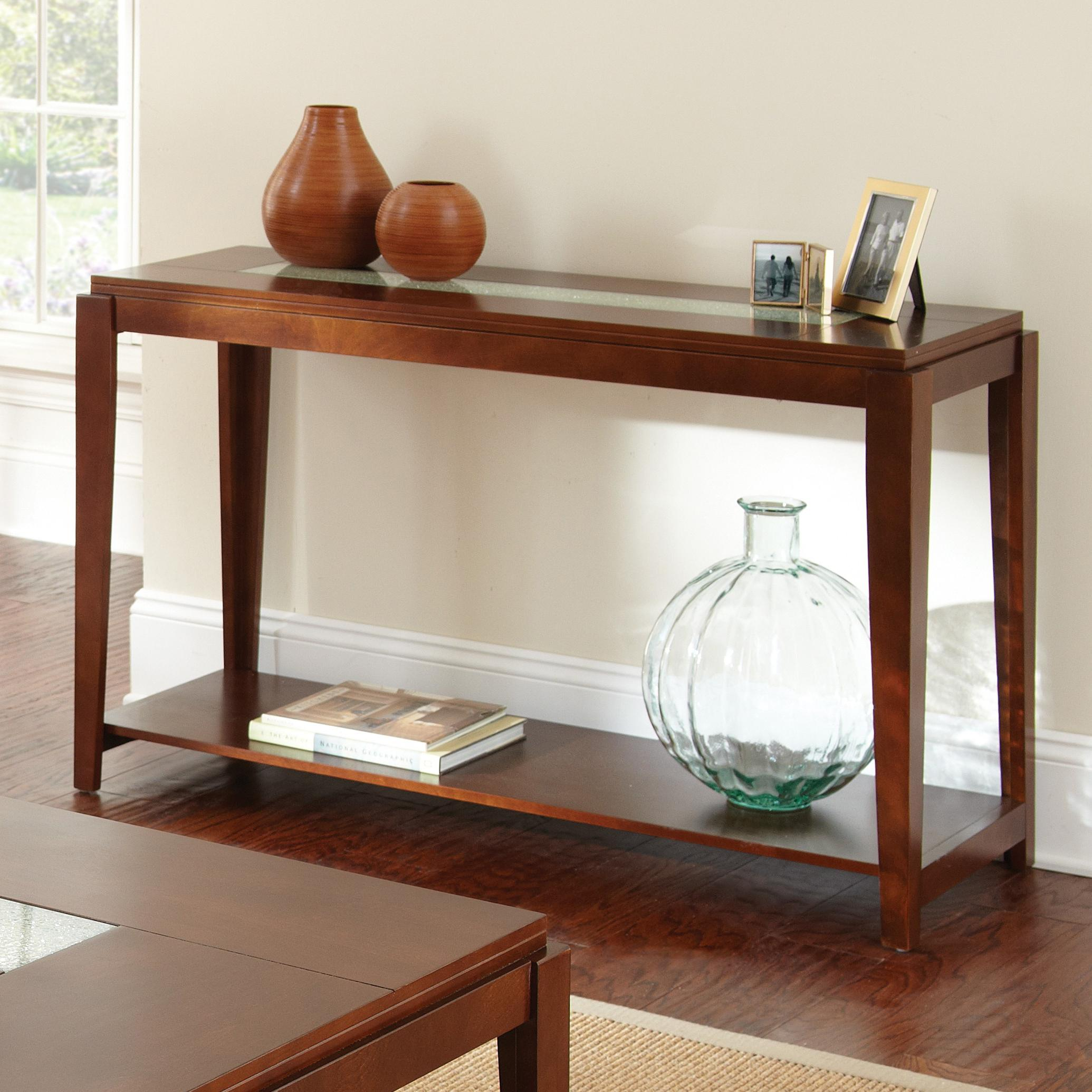 Steve Silver Ice Sofa Table - Item Number: IE200S