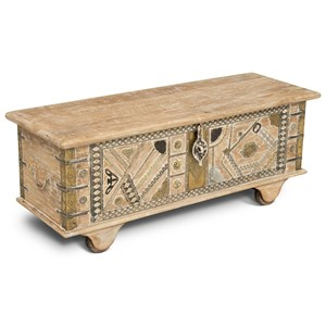 Steve Silver India Accents Amira Storage Trunk