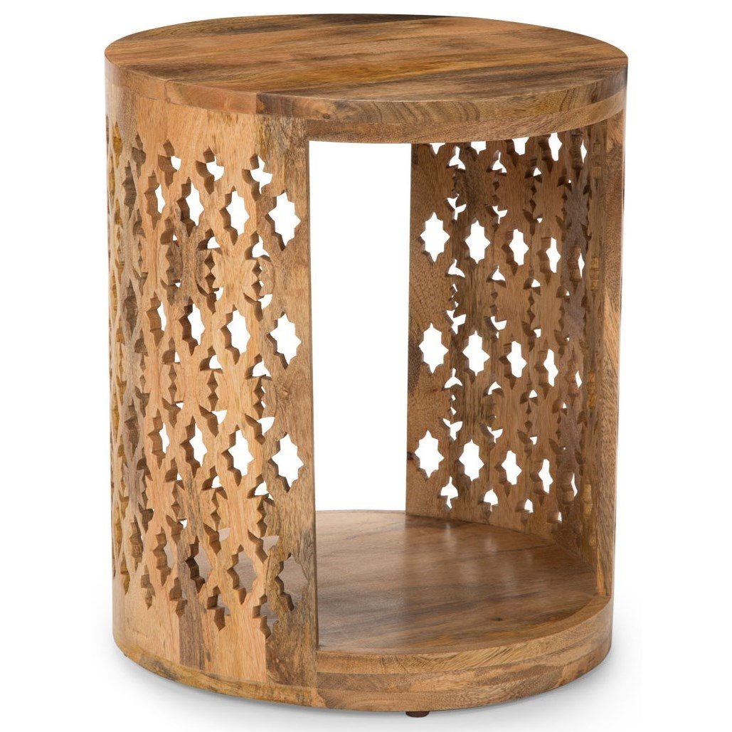 Brinley Round End Table