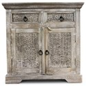 Steve Silver India Accents Krishna Cabinet - Item Number: KS340SB