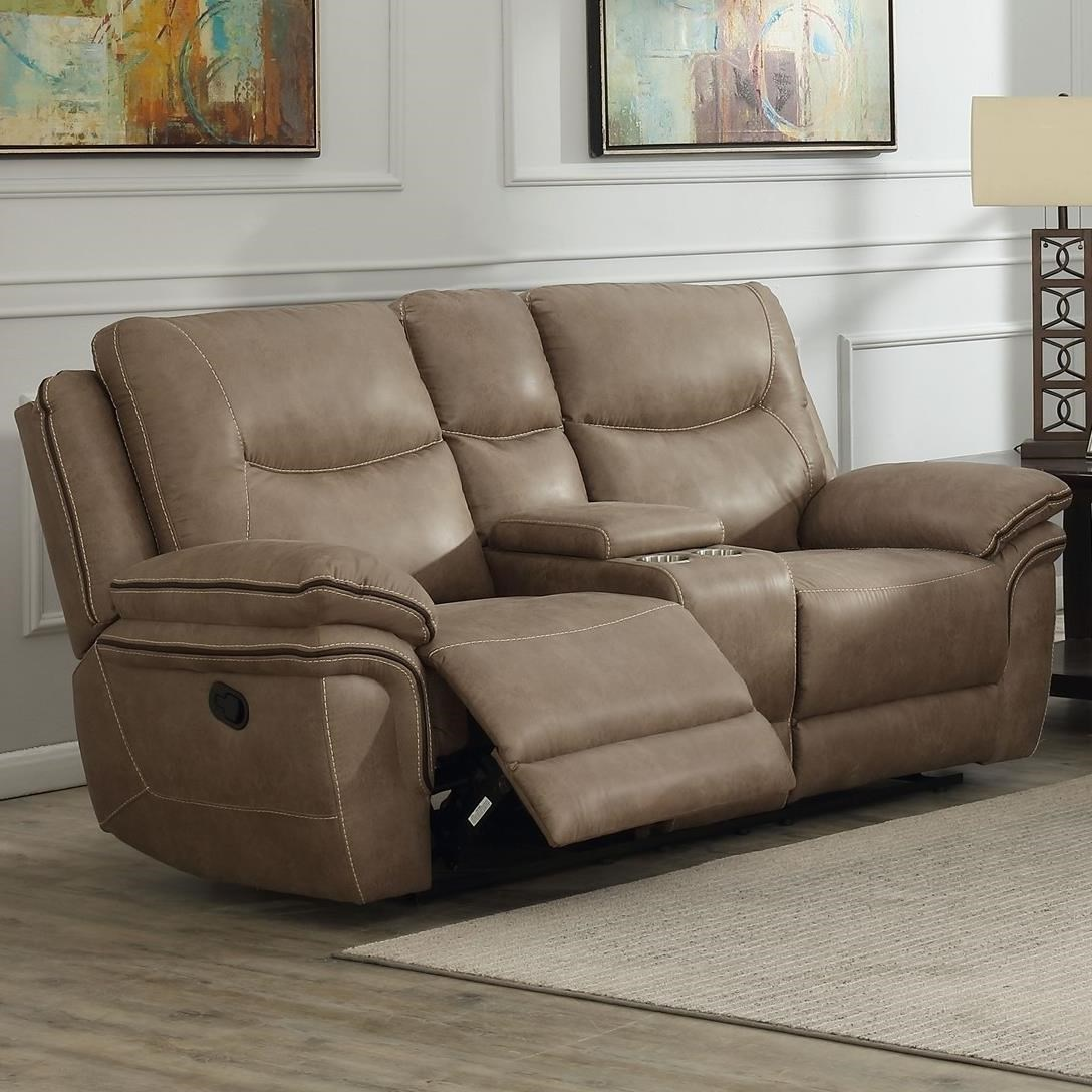 Console Loveseat Recliner