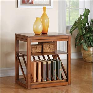Morris Home Furnishings Timber Terrace Timber Terrace Chairside End Table