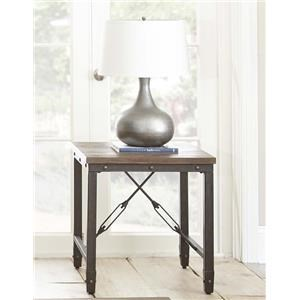 Morris Home Jersey Jersey End Table