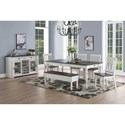 Steve Silver Joanna Dining Room Group - Item Number: JA500 Dining Room Group 2