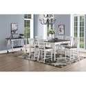 Steve Silver Joanna Formal Dining Room Group - Item Number: JA500 Dining Room Group 3