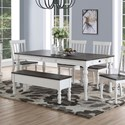 Morris Home Joanna Dining Room Table - Item Number: JA500T
