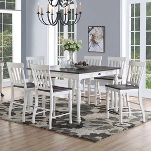 Steve Silver Joanna Counter Height Dining Set