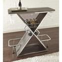 Steve Silver Joanna Bar Table with Footrest