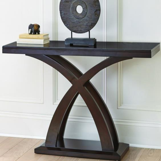Delmar Delmar Sofa Table by Steve Silver at Morris Home