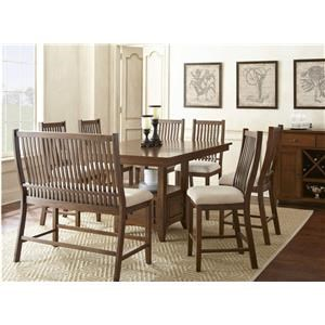 Steve Silver Kayan 5-Piece Counter Height Dining Set