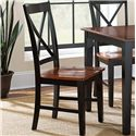 Vendor 3985 Kingston X-Back Side Chair - Item Number: NT300SK