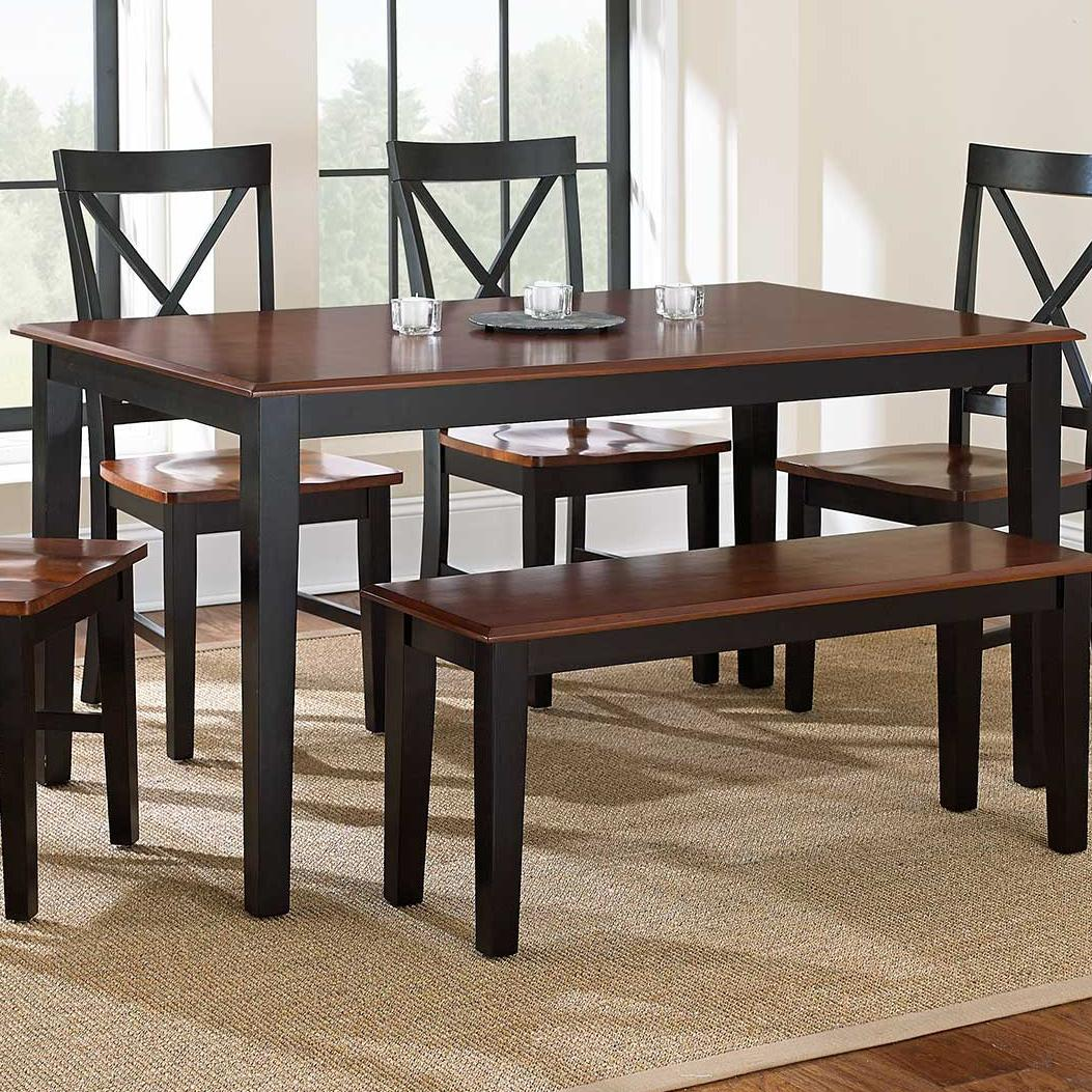 Steve Silver Kingston Rectangular Leg Table - Item Number: NT3660TK