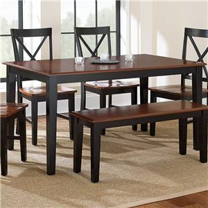 Morris Home Kingston Rectangular Leg Table