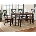 Morris Home Furnishings Kingston Casual Rectangular Dining Table
