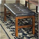 Steve Silver Lakewood  Dining Bench with Tufted Top