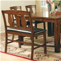 Morris Home Lakewood  Counter Bench - Item Number: LK500CCB