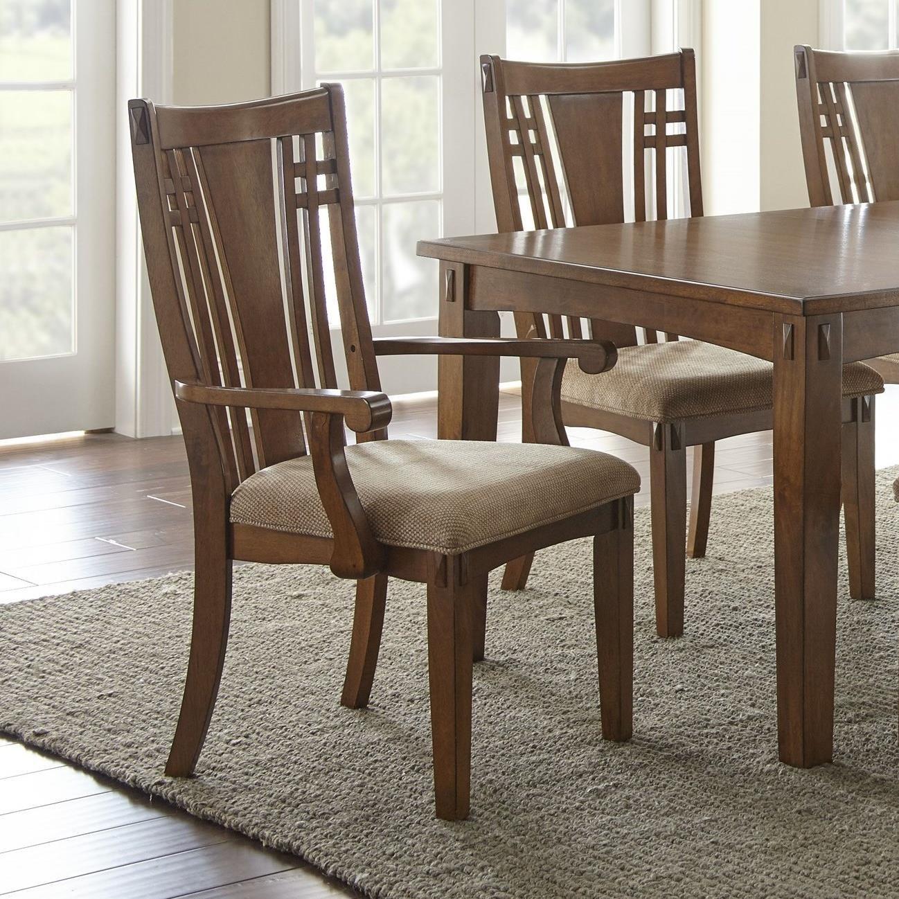 Steve Silver Larkin LK550 Arm Chair - Item Number: LK550A