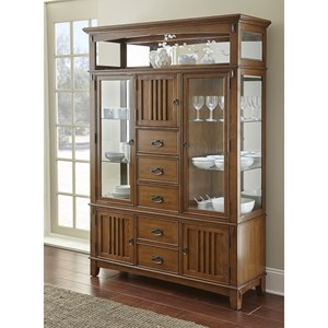 Steve Silver Larkin LK550 Buffet and Hutch