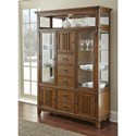 Steve Silver Larkin LK550 Mission Buffet with Two Drawers and Two Doors